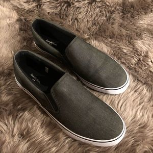 Gray Goodfellow & Co Slip On Shoes sz 13